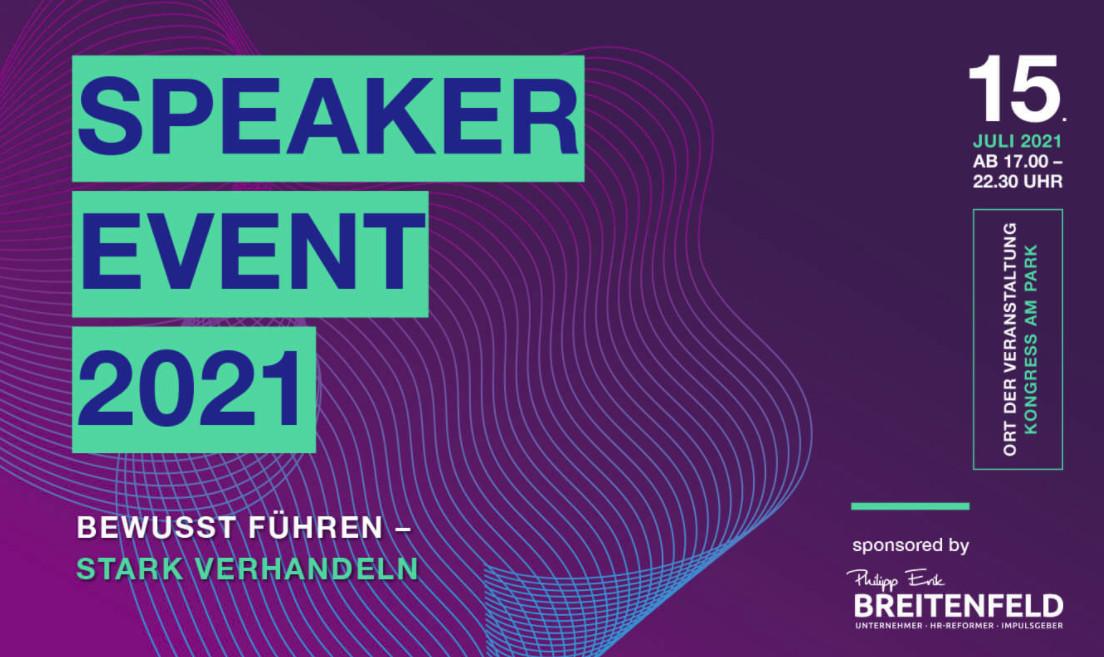 Speaker Event 2021 – Fotogalerie